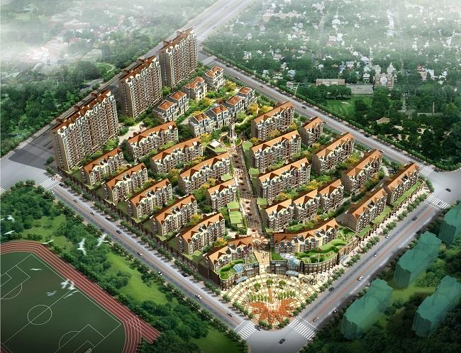 """分宜东湖""""上海公馆""""建筑设计(江西)"""